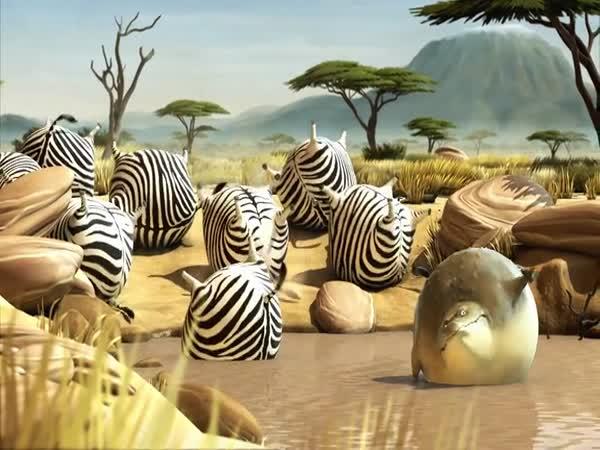 Animace - Safari z McDonaldu