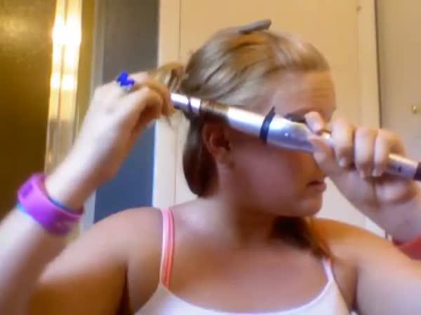 Návod - Jak si spálit vlasy