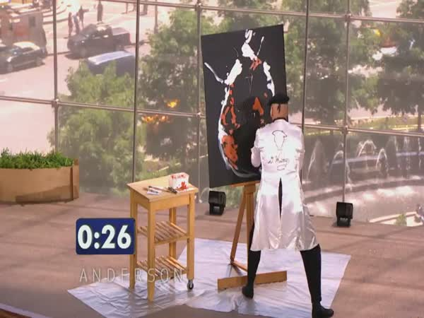 Borec - rychlo malíř