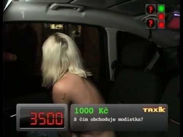 Trocha erotiky v pořadu Taxík
