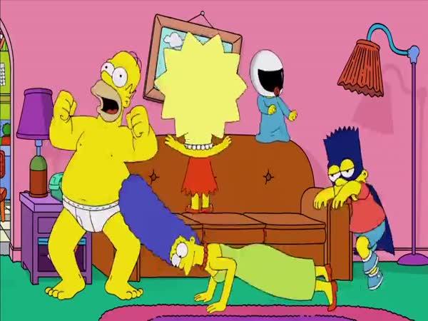 Simpsonovi - Homer Shake