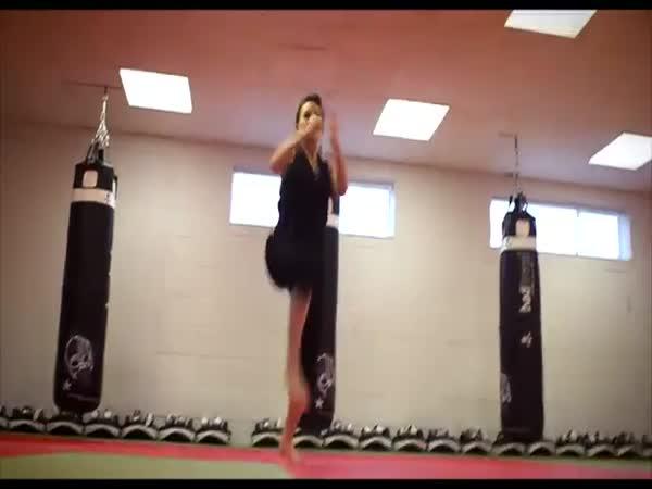 Karate dívka