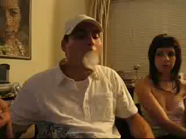 Borec - kroužek z kouře