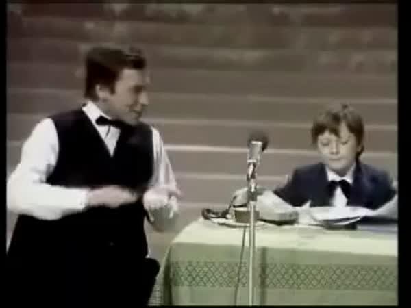 Silvestrovská scénka - Rok dítěte