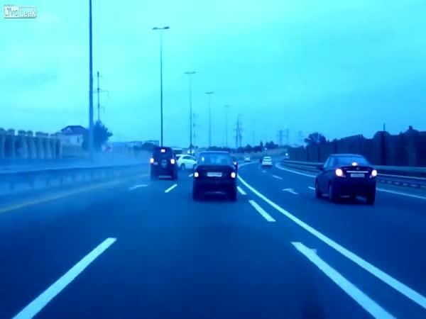 Obrovské štěstí na dálnici
