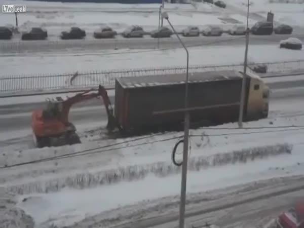 Jak roztlačit kamion