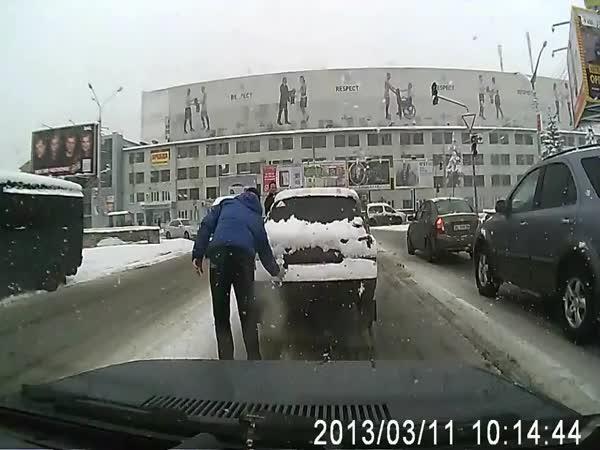 Řidič dobrák