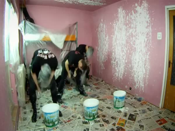 Jak malují pokoje metalisti