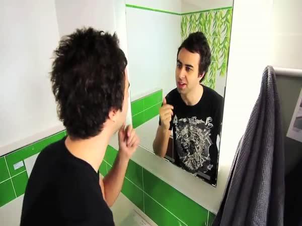 Debilní kecy v koupelně