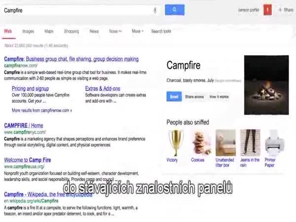 Nová technologie Google Nose