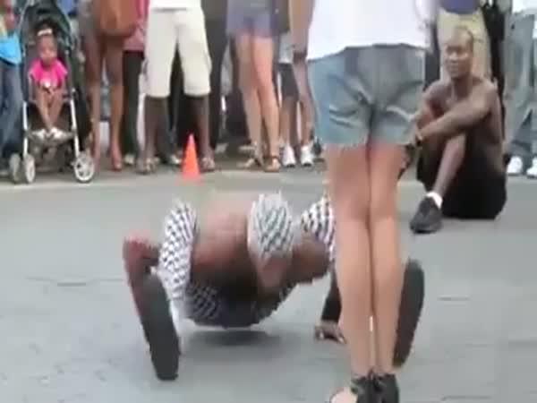 Parádní taneční vystoupení v ulicích #2