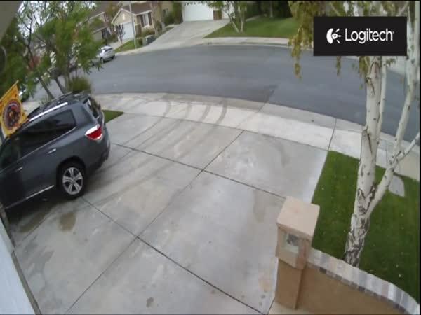 Zapomenuté klíčky od garáže