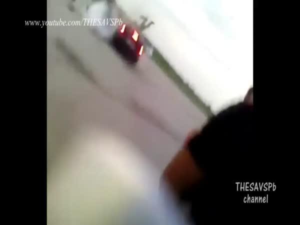 Brutální nehody motorkářů