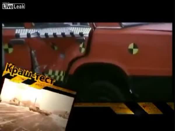 Crash testy na Ukrajině