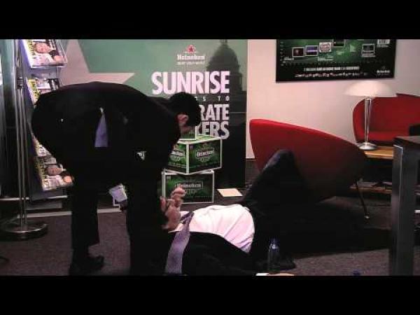 Netradiční pohovor u Heinekena