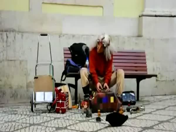 Borec - Pouliční hudebník
