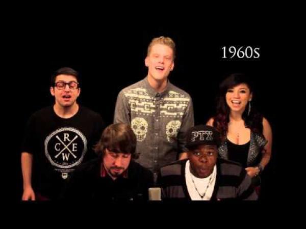 Evoluce hudby - Pentatonix