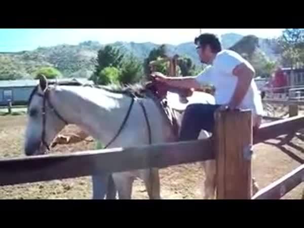 Jak opilec leze na koně