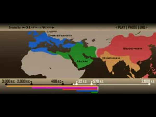 Evoluce náboženství na Zemi