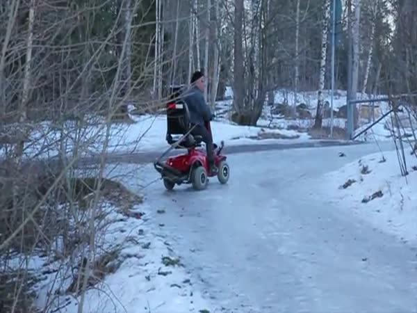 Šílený důchodce ze Švédska
