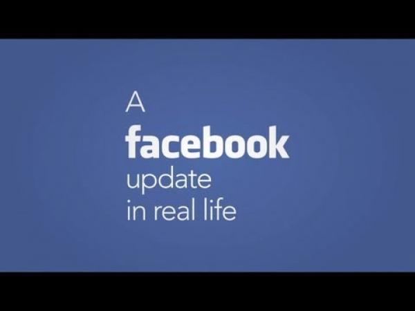 Aktualizace Facebooku ve skutečném světě