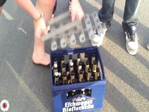 Otevírání piva je umění #2