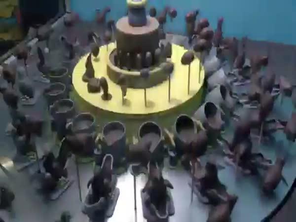 Čokoládová kreace s překvapením