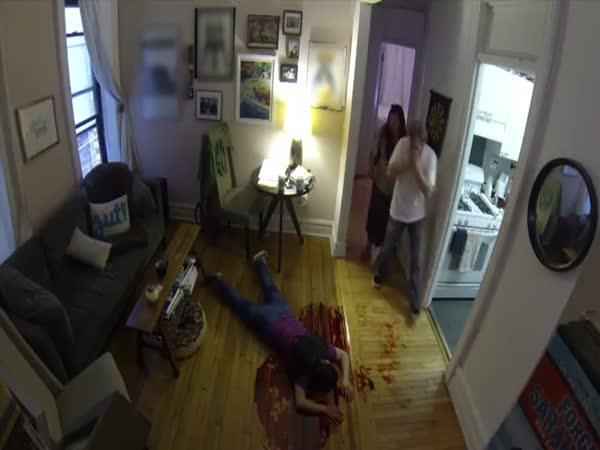 Nachytávka - Vrah v bytě
