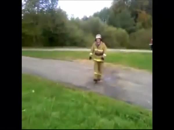 Když se hasiči nudí