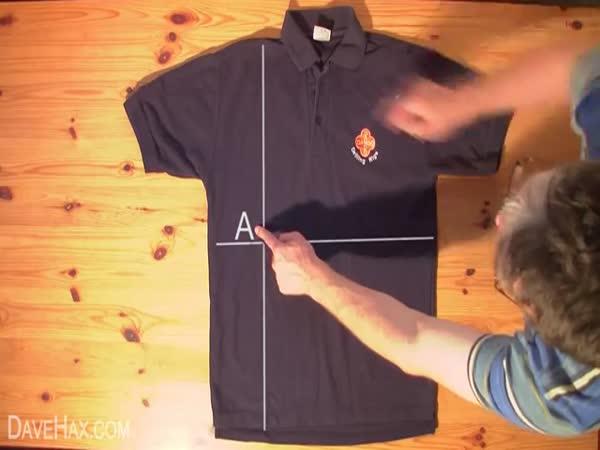 Návod - složení trička za 2 vteřiny