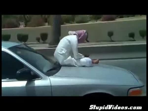 Smskování za jízdy