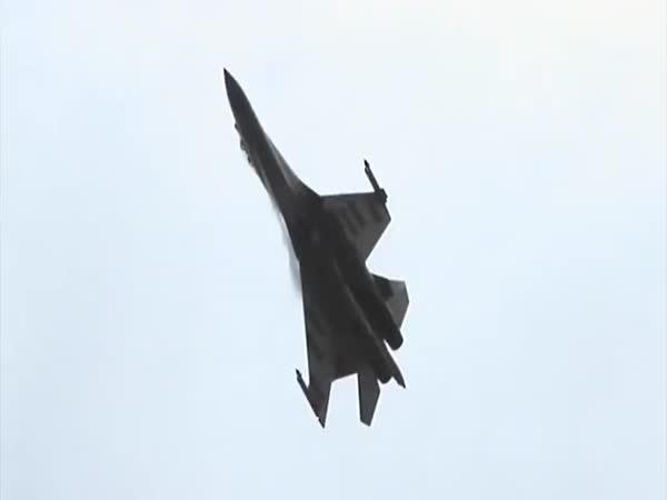 Úžasná letecká akrobacie