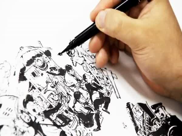 Talentovaný jihokorejský umělec