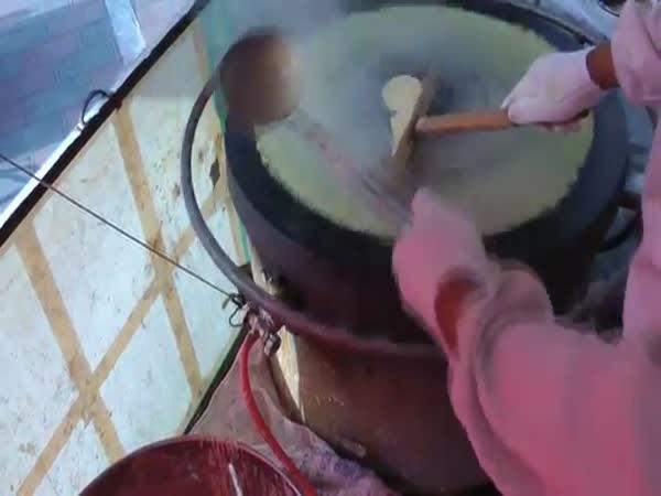Čínské obří palačinky