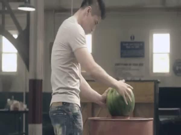 Reklama - Výtvory z melounů