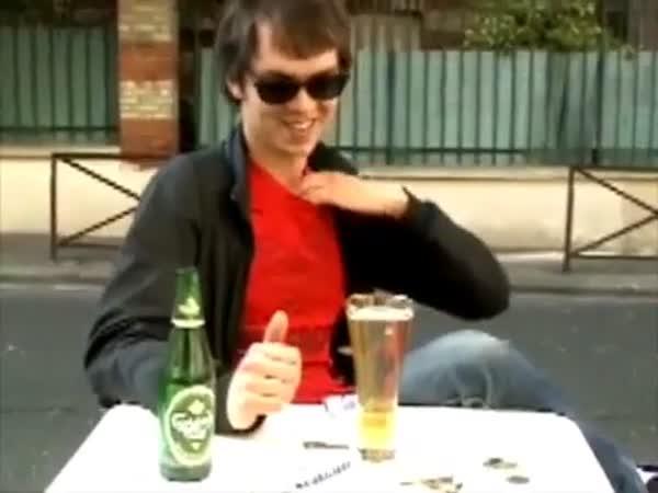 Mentos vs. pivo
