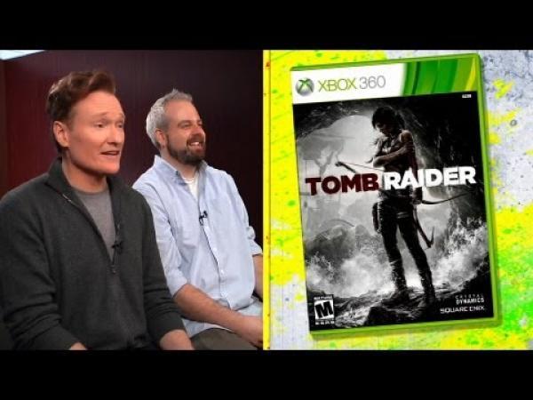 Conan recenzuje Tomb Raider