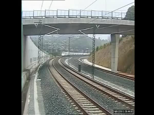 Nehoda španělského vlaku [24.7.2013]