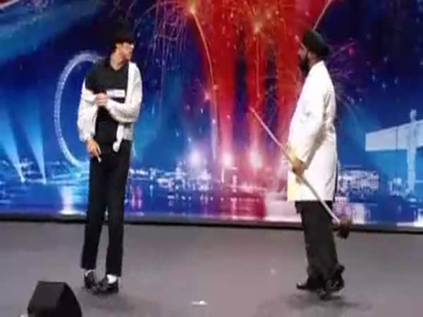 Británie má talent - taneční show