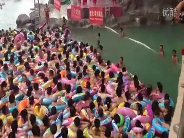 Číňané čekají na zábavu