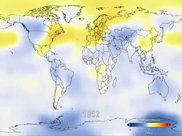 Globální oteplováni 1880 - 2011