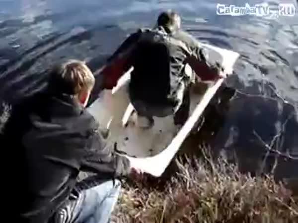 Ruský člun aneb plavba ve vaně