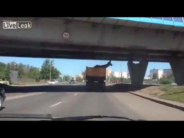 Ruský řidič kamionu