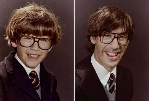 OBRÁZKY - Fotky z dětství v přítomnosti