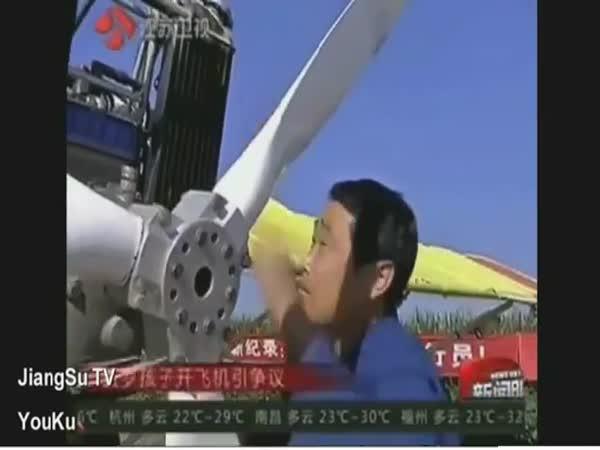 Nejmladší pilot na světě