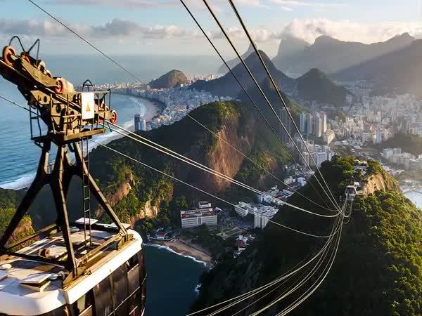 Rio de Janeiro - nádherné záběry