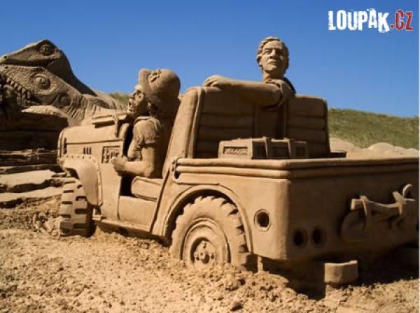 OBRÁZKY - Úžasné výtvory z písku 2