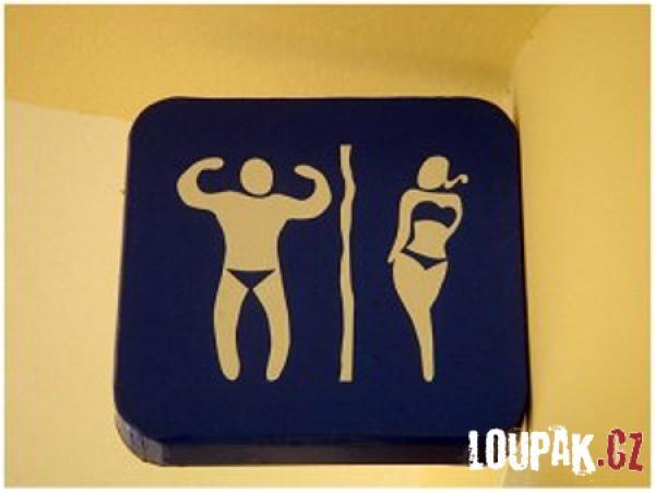 OBRÁZKY - Záchodové cedulky