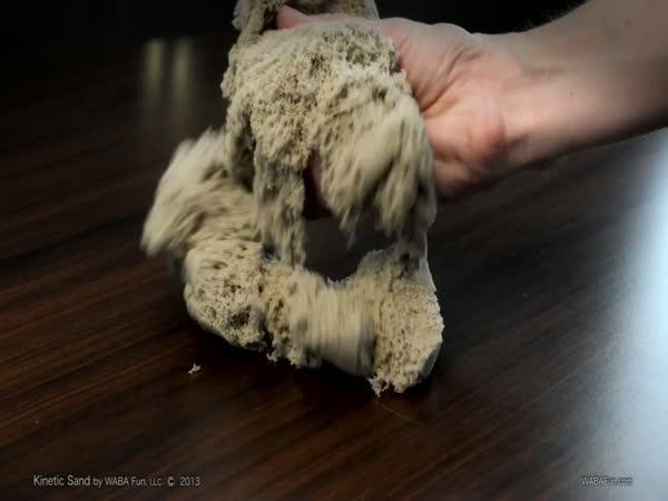 Kinetic Sand - pohyblivý písek