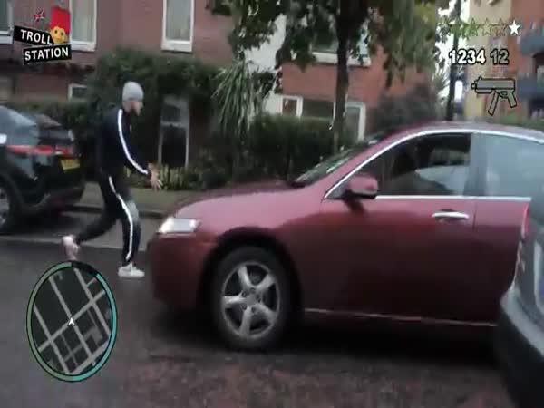 GTA V - krádež auta